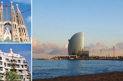 Vacanze mare spagna for Alberghi barcellona sul mare